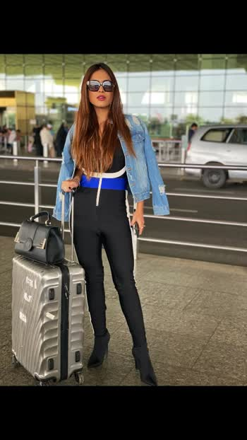 Airport look should always on point ...♥️♥️♥️ : #airportlook #airportoutfit #airportstyle #travelphotography #travelblogger #travelgram #travelholic #airportlook #airportfashion #airportdiaries #travel #csia #csiamumbai #mumbaiairport #airportlookonpoint #traveldiaries #luxurylifestyle #luxurytravel #luxury #nehamalik #model #actor #blogger #instagood #instafollow