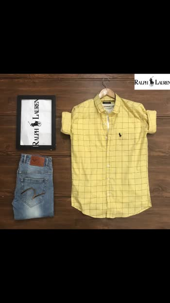 Fest *_Ralph Lauren®️_ SHIRTS*  💫 *HighQUALITY BOX Check Shirts*💫  —- *Full Sleeves* —-  💫 *Size M L XL * 💫 *@450/- only* 💫 *Shipping extra*   *Very fine quality 100% Cotton*   *full stock available*    15 sets available(136pcs)    💫💫💫💫💫💫💫💫