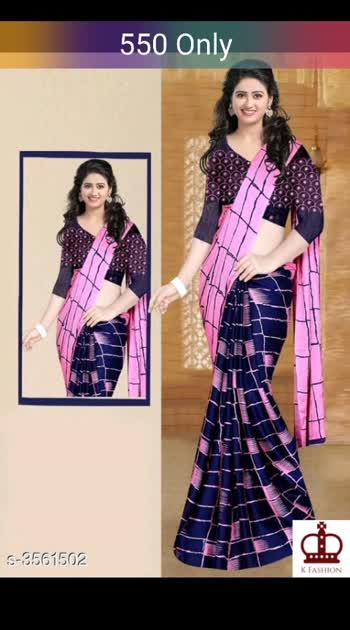 Trendy Eva Women's Saree Saree Fabric: Chiffon Blouse: Running Blouse Blouse Fabric: Silk Border: Embroidered Multipack: Single #chiffonsaree #shopwithus #buyitnow #thebazaar #cashondelivery #followme #followmeonroposo