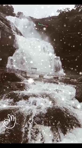 #courtallam_waterfalls #Northeast Mansoon #pullukattuvalasai  #suthakar #tenkasidistrict #tenkasian #tenkasi ...