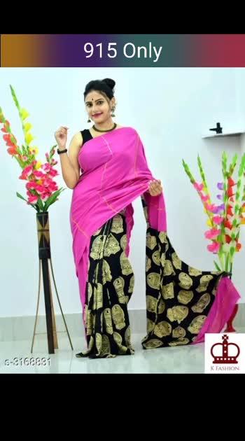 Siya Cotton Women's Sarees Saree Fabric: Cotton Blouse: Running Blouse Blouse Fabric: Cotton Border: Printed Multipack: Single #cottonsaree #cottonsarees #shopwithus #buyitnow #thebazaar #cashondelivery #followme #followmeonroposo