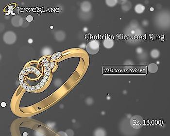 Chakrika Diamond Ring. Visit - http://bit.ly/389eru3 #ChakrikaDiamondRings #Chakrika #DiamondRings #GoldRings #Rings #Jewelslane #Aumkaara #Handmadejewellery #Shopjewellery #Gifts #jewelry #love #engagementring #finejewelry #jewellery #wedding #engagement #christmasgifts