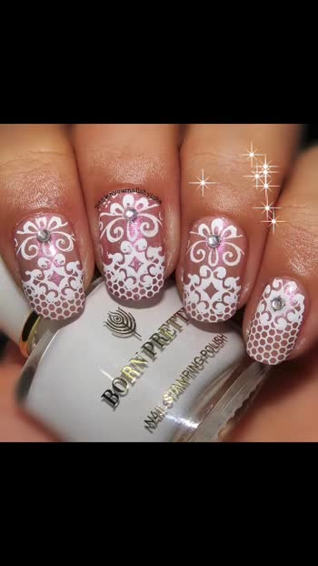 Hi everyone 🙋🏻♀️😍 have a look on my lace Nail Art 🌺🌻🌸🌼   Hope u all like it 😊   🔅🔅🔅🔅🔅🔅🔅🔅🔅🔅🔅🔅🔅🔅🔅 🎁Use ISH10 for 10% discount on https://www.beautybigbang.com/ 🔅🔅🔅🔅🔅🔅🔅🔅🔅🔅🔅🔅🔅🔅🔅  🎥 Full Tutorial is up on my YouTube channel, link is in the bio👆 Go watch it, show some love ❤️ and don't forget to hit the Subscribe button 😌  #designyournailsbyisha #ishanailart #bbbxl074 #pinknails #nudenails #lacenailart #weddingnailart #floralnails #nailart #naildesign #nails #beautybigbang #nailswag #nailartwow #nailfashion #beautifulnails #nailpromote #uñas #nailmagazine #naildesigns4all  @design_your_nails_by_isha💖