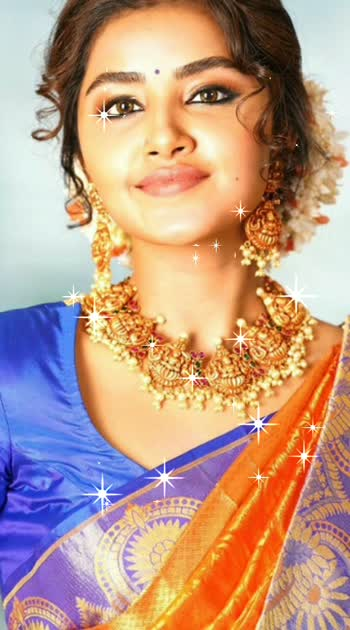 #anupamaparameswaran #traditionaljewellery #cutipiee... 😍