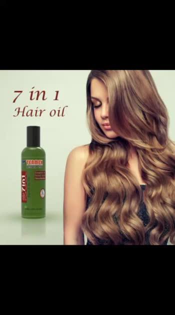 7 in 1 hair oil.. For men and women. In ₹190 only... Interest pls call OR WhatsApp - 9898322162 Kahi se bhi mangvaye #health #hair #hairoil #womenhealth