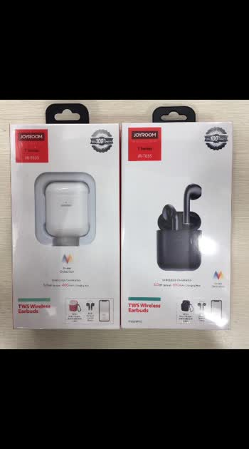JOYROOM AIRPODS  WITH AIRPOD CASE  MODEL - TSERIES - JR-TP3S   DM FOR ORDER   OR WATSAAP ON 9999142594   #roposo #airpodspro #appleairpods #chattobuy #trendingonroposo #trendingonroposo #trendalert #gadgets