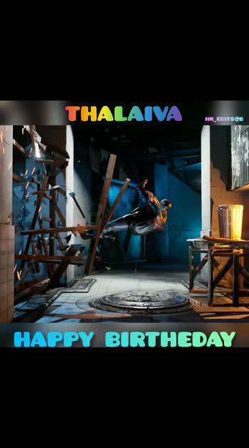 #happybirthday Thalaiva #happybirthday