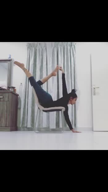 #yoga #yogapractice #roposo @ropossoo #yogainspiration #abudhabi