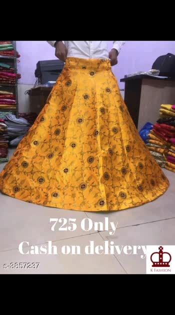 Stylish Brocade Women's Skirts Fabric: Brocade  Waist Size: 40 in Length: Up to 40 in Type: Stitched Description: It Has 1 Piece Of Women's Skirt Work: Zari