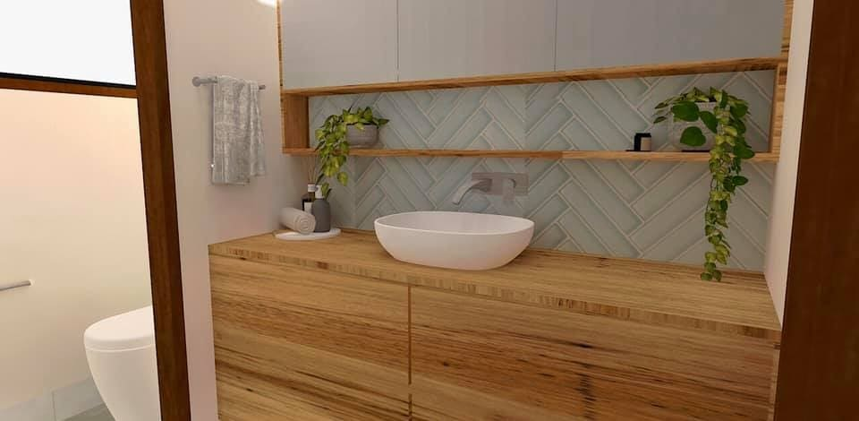 Our tech savvy #designer taking rendering up a notch! 👌⬆️ Want to see your #dream #bathroom come to life?  Call 02 4047 2100 #Australia  www.novocastrianbathroomsolutions.com.au