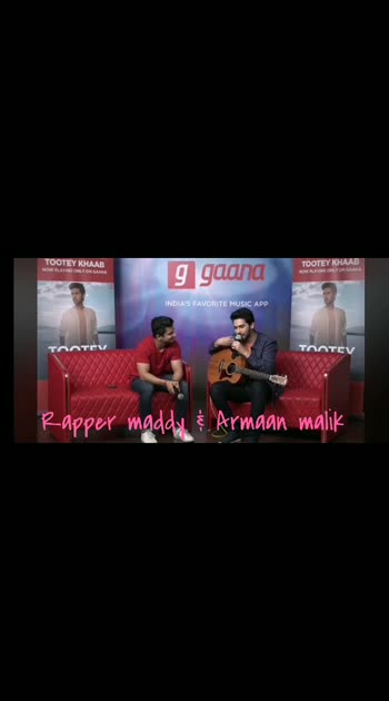 @rappermaddy @armaanmalik #armaanmalik #rappermaddy #gaana