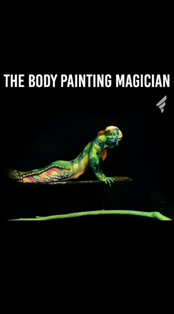 #art #bodypainting #nakedbeauty