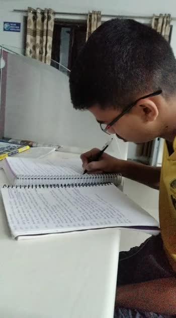 my friend preparing for civils exam