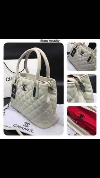 Kz *Chanel Sling* *Hand Bag*  *Attractive Look Hand Bag*🤩 *10A Quality* *Fully Branded*🥰 Branded HandTag🏷  Branded Logo InSide  Branded Packing  Branded Runner  *All The Fittings Use In Bag Is Branded* *Size :9/13* *5 Elegant Colour* *Quality That Never Seen Before*  💶 *Price ₹1150/- + $*💶