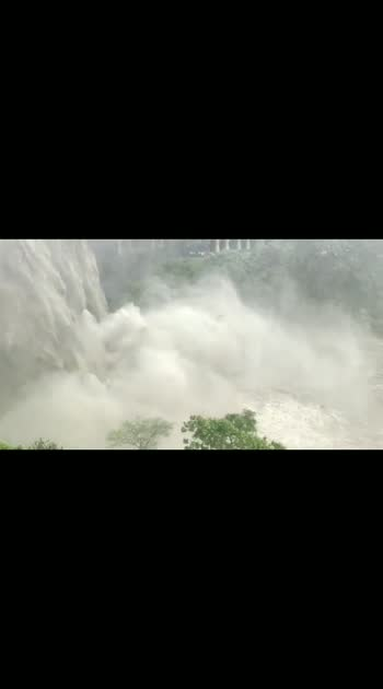 Ellora Caves waterfall  #ellora #waterfall #dengerous  #Ellora_caves