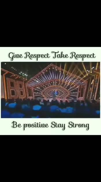 respect take respect