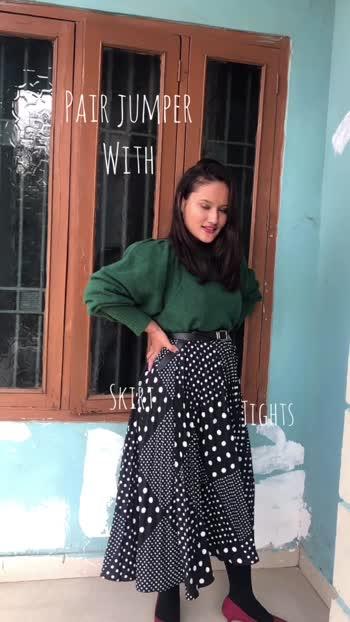 Date: 19.12.19 Different ways to style jumper this winter #winterfashion #winterlookbook #winterwear #winteroutfit #fashionblogger