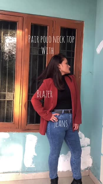 Date: 19.12.19 Different ways to style polo neck top #fashionblogger #fashionista #winteroutfit #winterlookbook #fashion