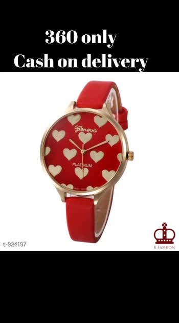 Stylish Analog Women's Watch Material: Strap - Synthetic Leather, Case -Stainless Steel  Size : Free Size Dial Type - Analog Description: It Has 1 Piece Of Woman's Watches