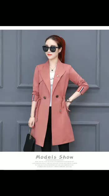"""*Blazers* ❣  *RATE* - - *1600+ship*😍 *Shipping*--100  *SIZE* - - free size fits till 38 bust *FABRIC*---Imported warm *LENGTH* --""""- 30""""    📌Stock in hand 📌 *READY TO SHIP*  ❌❌❌❌❌❌❌❌❌❌❌"""