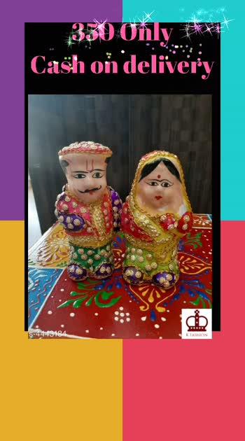 Checkout this hot & latest Other Diwali & Festive Decor New Home Decors Material: Lac  Size: (L X W X H) - 5 in X 2 in X 2 in  Description: It Has 1 Piece Of Couple Pair Decor Sizes Available - Free Size