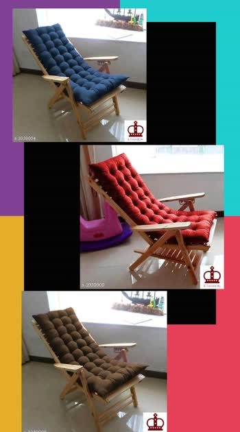 600 Only Cash on delivery Scuzo Long Chair Pad Cushion  Fabric: Polyester Fiber  Size (L x W): 42 cm x 122 cm x 8 cm  Description: It Has 1 Pieces Of  Long Chair Pad Cushion  Pattern: Solid