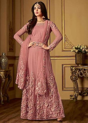 buy now : 35bwKft  Lavishing Pink Party Wear Anarkali Suit .   #christmassale,#indianethnicwear,#shoppingonline,#anarkalisonline,#designeranarkalisuits,#indianfashion,#fashioninsta,#readytowear