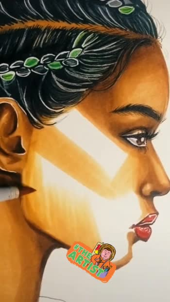 #art #painting @roposotalks #theartist