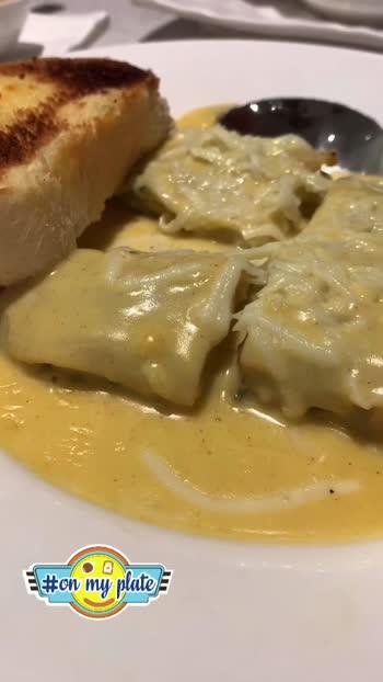 Creamy Lasagna anyone? 😍  #foodtalkbangalore #foodporn #bangaloreblogger #bangaloreyoutuber #bangaloretravelblogger #bangalorefoodie #onmyplate