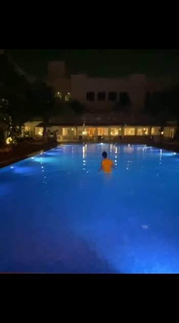 #sanjanagalrani #poolside
