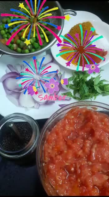 recipe :    Samber 🤗 #roposo  #recipevideo  #homecooked  #yummylicious