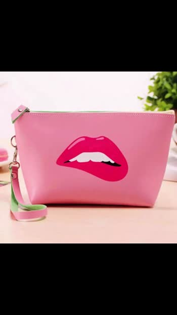 Kz Printing Large Women Cosmetic Bag Fashion Brand Makeup Bags Multicolor Pattern Cute Cosmetics Pouches For Travel Ladies Pouch kh Size. 5/8  *Price.   240+$* *Sale sale*