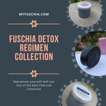 Fuschia Detox Regimen Collection This Detox Regimen Collection includes 1) Activated Charcoal Natural Handmade Herbal Soap (100g) 2) Fuschia - Activated Charcoal - Face & Body Detoxifying Scrub (100g) 3) Fuschia - Activated Charcoal Detox Face Mask (100g). Order Online :- http://bit.ly/35ss0Cl . . #NaturalSkincare #SkincareTreatment #Beautyaddicts #naturalbonds #DetoxCollection #RegimenCollection #ActivtedCharocoal #SLSfree #Slesfree #Parabenfree #Phthalatesfree #Mineraloilfree