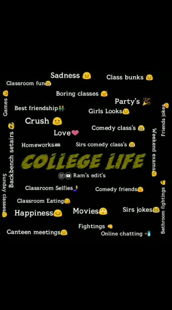 #collegelife