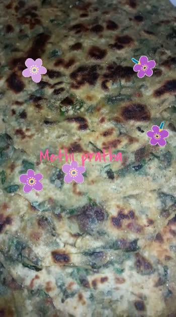 recipe : Methi prataha 👌 #roposostar  #tastytasty  #homecooked  #easyrecipes