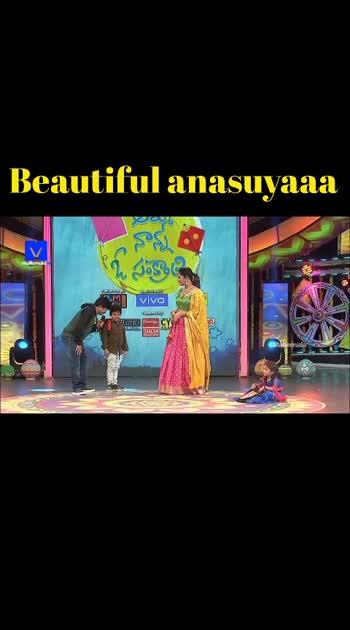 beautiful anasuyaaaa anchoring