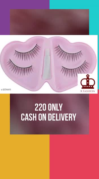 Shopfleet Eyelash For Woman (Pack of 2)   Product Name: Shopfleet Eyelash For Woman (Pack of 2) Product Type: Eyelashes Material:  Plastic & Synthetic Size: Free Size Package Contains: It Has 2 Pack of Eyelashes