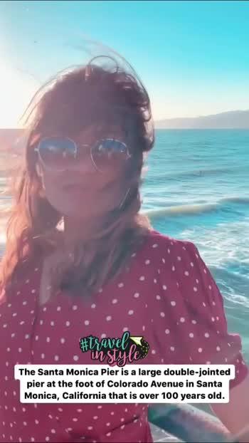Santa Monica, California.  #travelkarnataka #travelrealindia #travelbloggers #bangaloreblogger #bangaloreyoutuber #bangaloretravelblogger #santamonicapier #californiablogger #cali #usa #travelinstyle