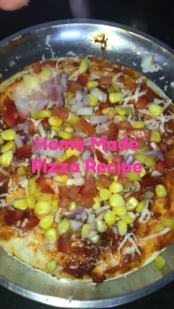Home Made Pizza Recipe #Healthy #Nutritious #Tasty #Kids #Foodies @roposoindiaofficial