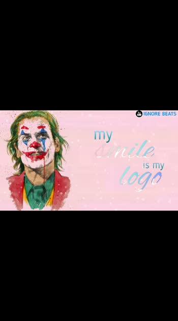 my smile is my logo#smile #smilemore #happy #happyvibes #charlie #charlieputh #joker #jokerlovers #feelthemusic