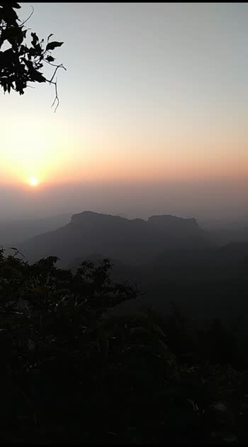 #sunset  in pachmarhi , dhoopgad #sunset_vision sunsetpoint