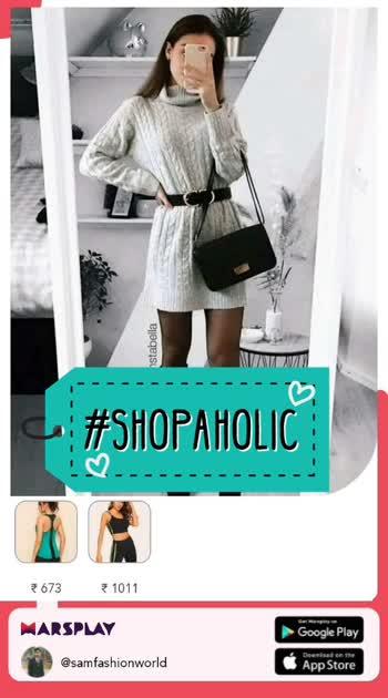 #shoppoholic #shoppingonline #marsplay #marsplayco #best #collections   https://marsplayco.app.link/Aef58wJ612