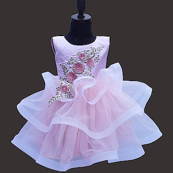 Baby Pink Birthday & Wedding Party Heavy Designer Gown To order, please connect with us on WhatsApp here, https://api.whatsapp.com/send?phone=918003550118 or Shop Online @ https://www.pinkblueindia.com/baby-pink-birthday-dress.html  #kidspartyweardress #flowergirldress #kidsdress #birthdaydress #kidsballgown #childrensclothing #flowergirl #kidsfashion #girlweddingdress #babygirldress #babydresses #babyfashion #birthdayfrocks #kidswear #girldress #onlineshopping #babybirthdaydress #kidsbirthdayfrocks #usa #uk #australia #pinkblueindia