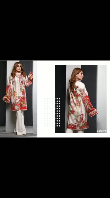 *BOOKING OPEN !! DELIVERY SOON !!   *Solitaire lawn embroidered tunics/kurti collection*  📦 Designer Tunics  💲 *₹1650/-* per suit  💵 Bank Transfer   🏠COD   📲Paytm available  🚚 *Shipping extra* PS