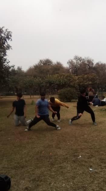 ENJOYING. #dancers #roposo #fun #enjoy