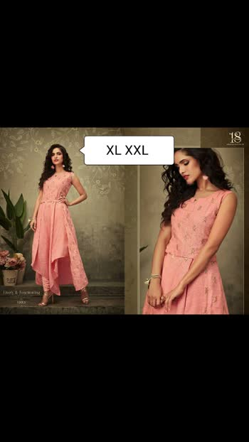 """Prin 💢 *FESTIVAL SEASON PARTY WEAR KURTIS COLLECTION*💢   *18-ATTITUDE by AASTHA* brings you yet another exclusive party wear collection  *""""AASTHA vol. 15""""*   #18byAASTHA #exclusivecollection #partywear  #kurtis #designerclothes #indianwedding  Size - L, XL, XXL(mentioned on the pic 🙈🙈)  Singles available  Singles  *RATE @ 960/-+$with gst*😅😅  *DZNS 3 ONLY*   🏃🏾Hurry Up!! Limited Stock. Book ur orders soon..🏃♀"""