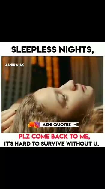 #sleeplessnights #asmitha