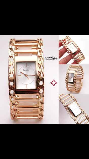 Mw @ CARTIER @ FOR LADIES  @ SLIM  DIAL  @ OG LOCK  @ BEST QUALITY  @ METAL BELT @ GOOD QUALITY  @BACK STILL  @SWISS MADE  @ 7A @STAINLESS STEEL BACK  @ WATER RESISTANT  @ *RS 700* @ * SHIPPING EXTRA * @👌👌👌👌👌👌👌👌👌
