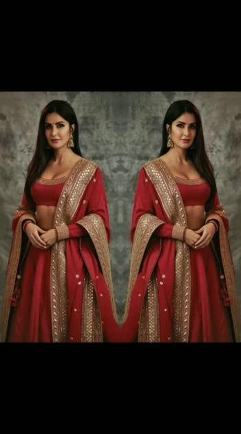 #redlove #fashionquotient #redsaree #katrinakaif #filmistaanchannel