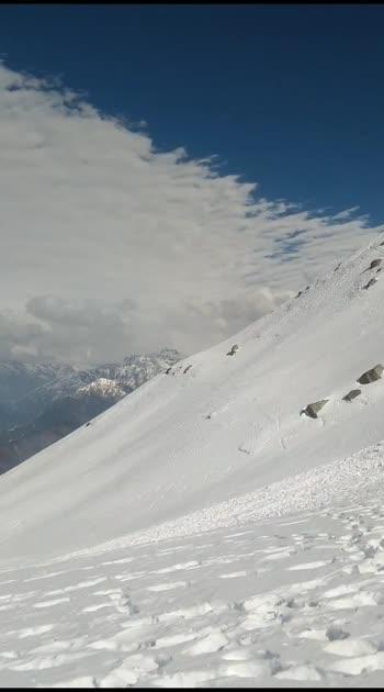 #travel #traveldiaries #mountains #blogger #snowmountain #trekking #weather #nature #photography #naturelove